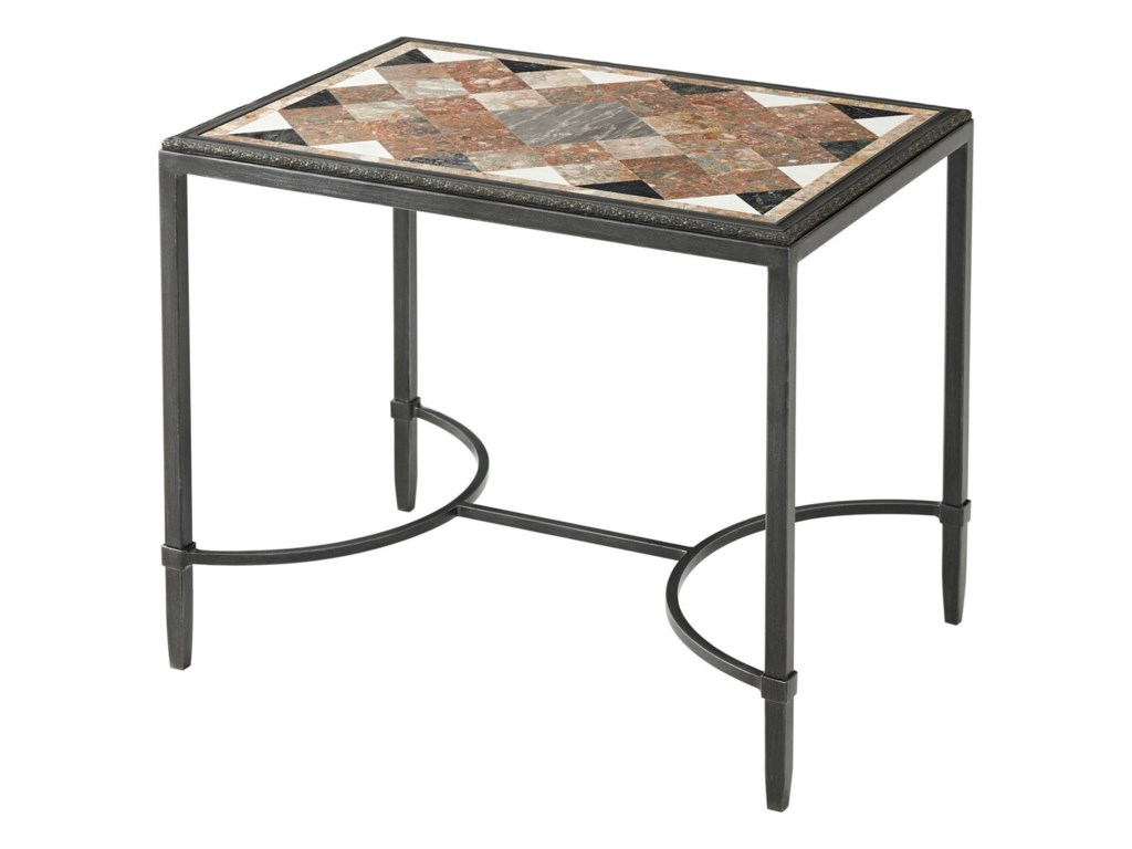 Theodore Alexander Essential TALozenge Top Cocktail Table