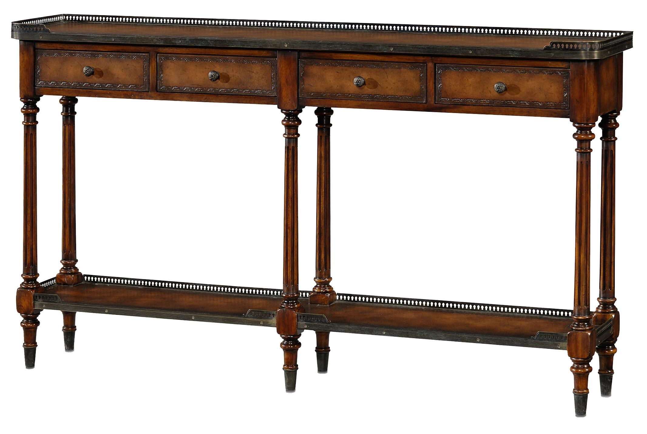Theodore Alexander Essential TA Louis XVI Console Table   Baeru0027s Furniture    Sofa Tables/Consoles