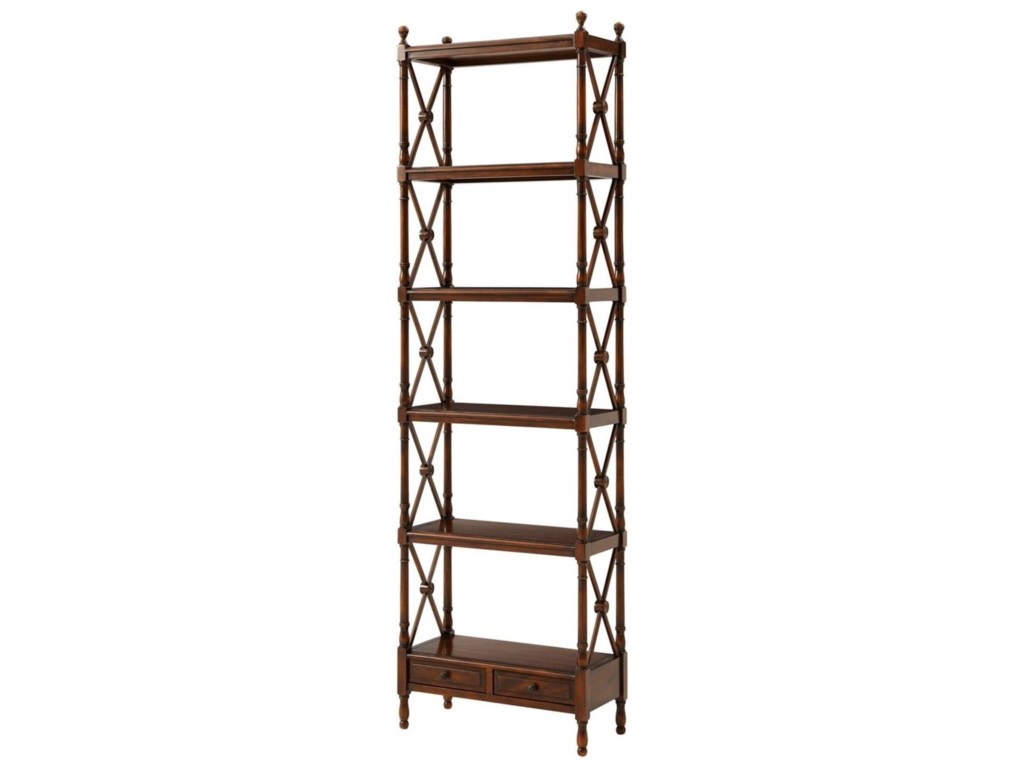 Theodore Alexander Essential TAA Display from the Regency Etagere