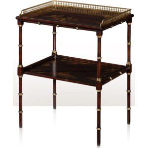 Theodore Alexander Indochine 5002 236 2 Tier Lamp Table Baer S Furniture End Tables