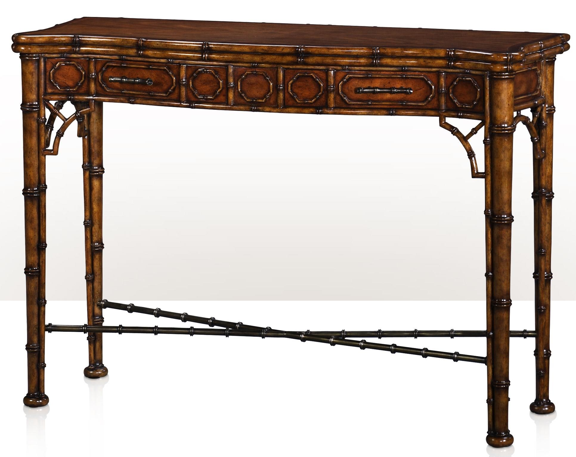 Theodore Alexander Indochine 5300-138 The Edwardian Bamboo Console ...