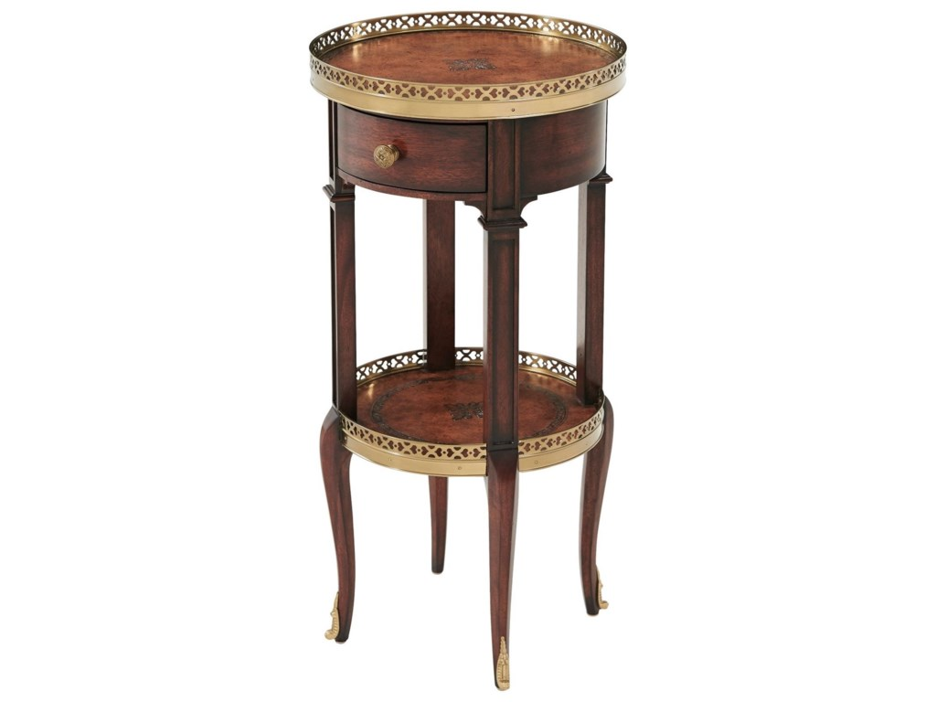Theodore Alexander TablesLouis XVI Circle Lamp Table