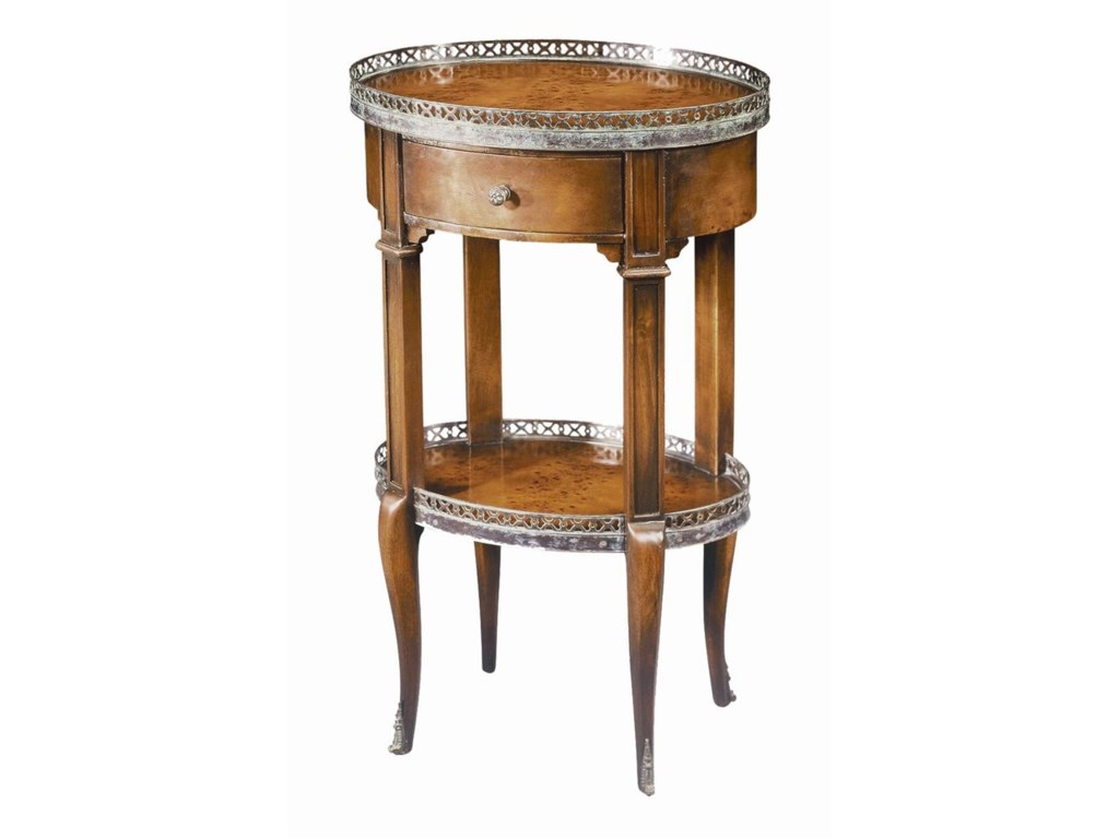 Theodore Alexander TablesOval Lamp Table