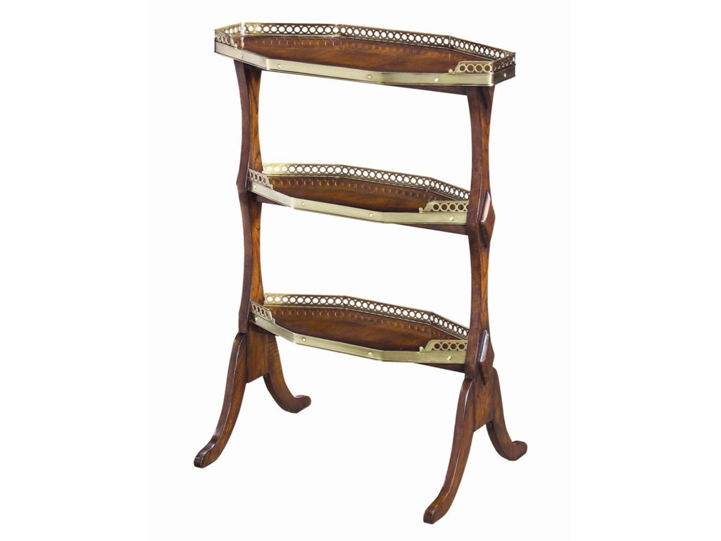 Theodore Alexander Tables3 Tier End Table