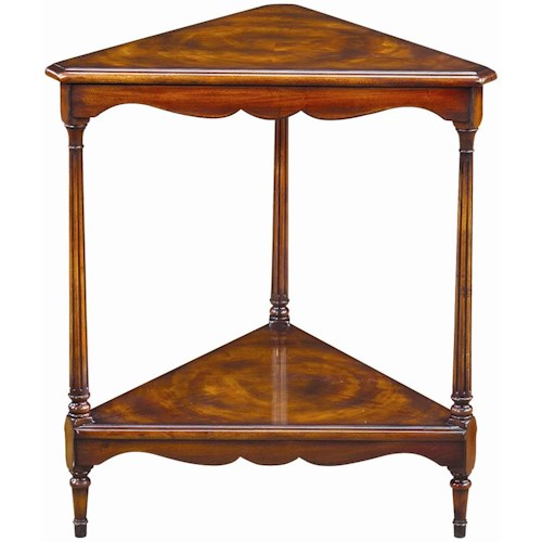 Theodore alexander tables triangular corner lamp end table stuckey theodore alexander tables triangular corner lamp end table aloadofball Image collections