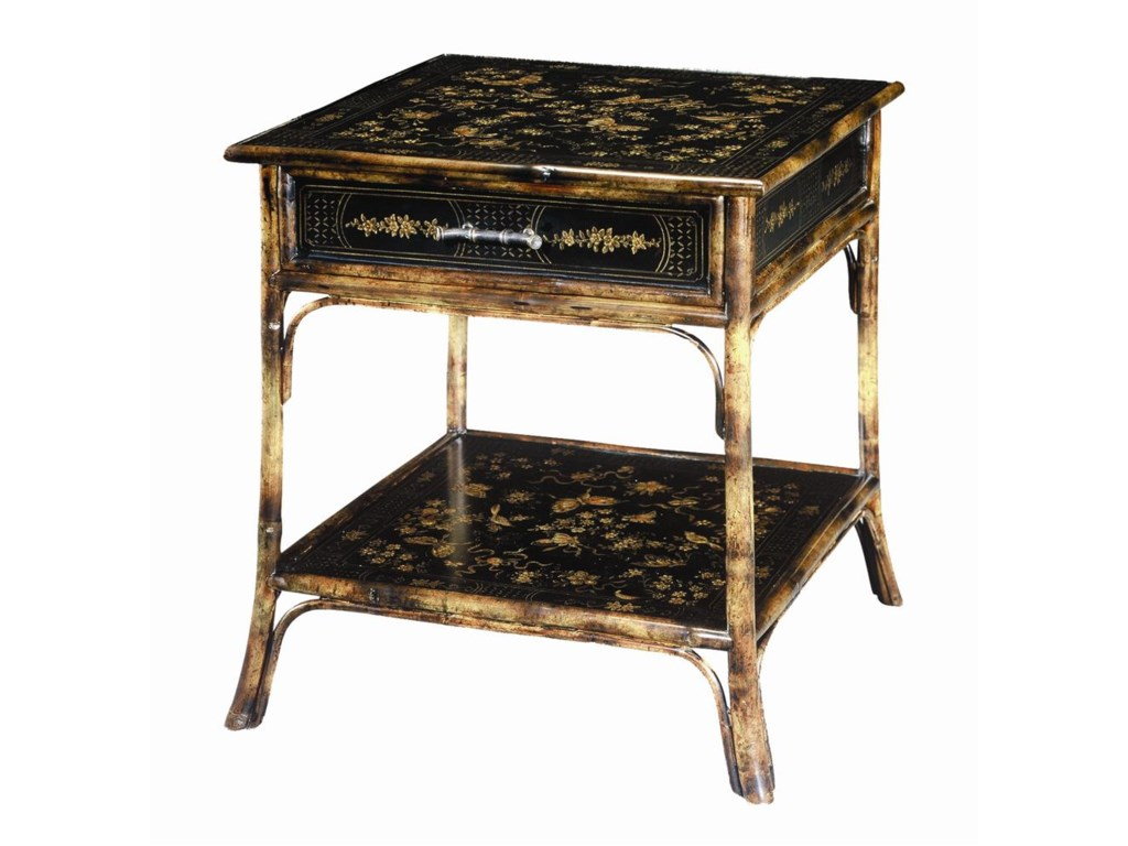 Theodore Alexander TablesBamboo Square End Table