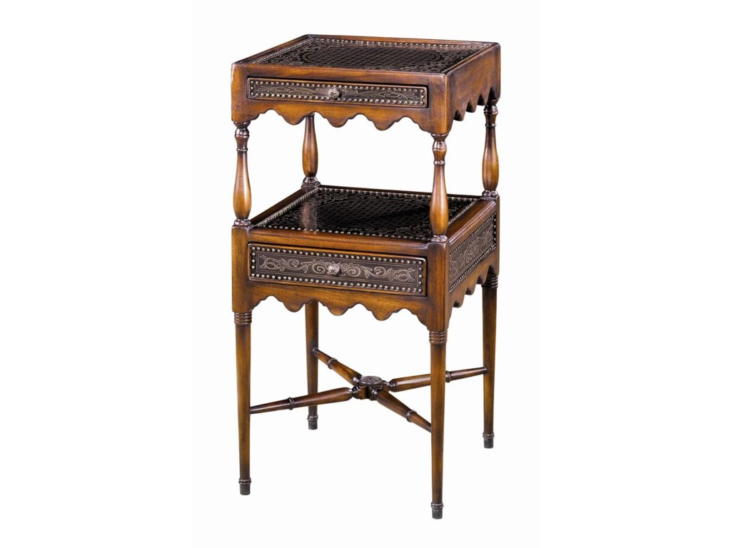Theodore Alexander Tables2 Tier End Table