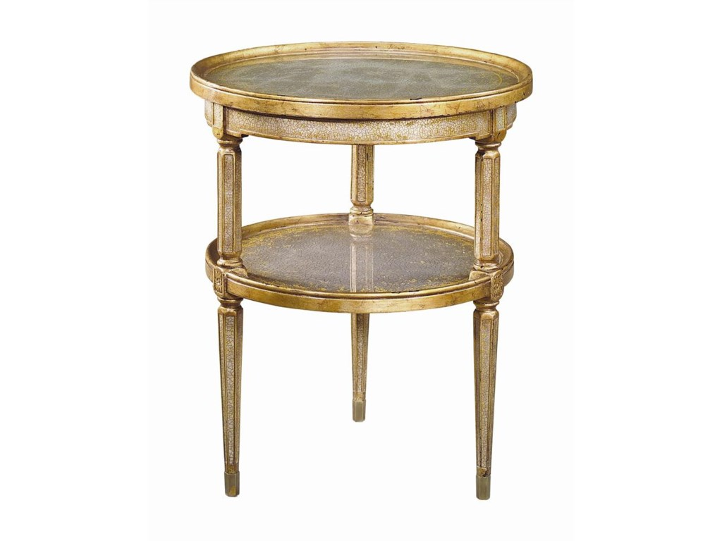 Theodore Alexander Tables2 Tier Circular End Table