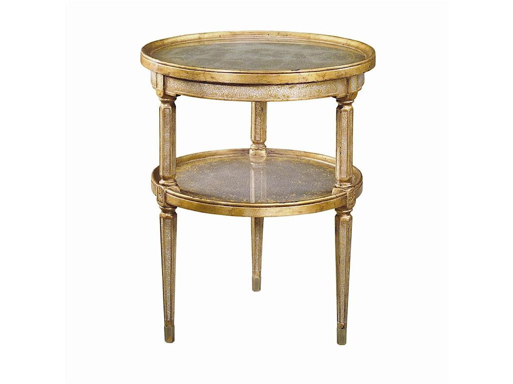Theodore Alexander Tables2 Tier Circular End Table