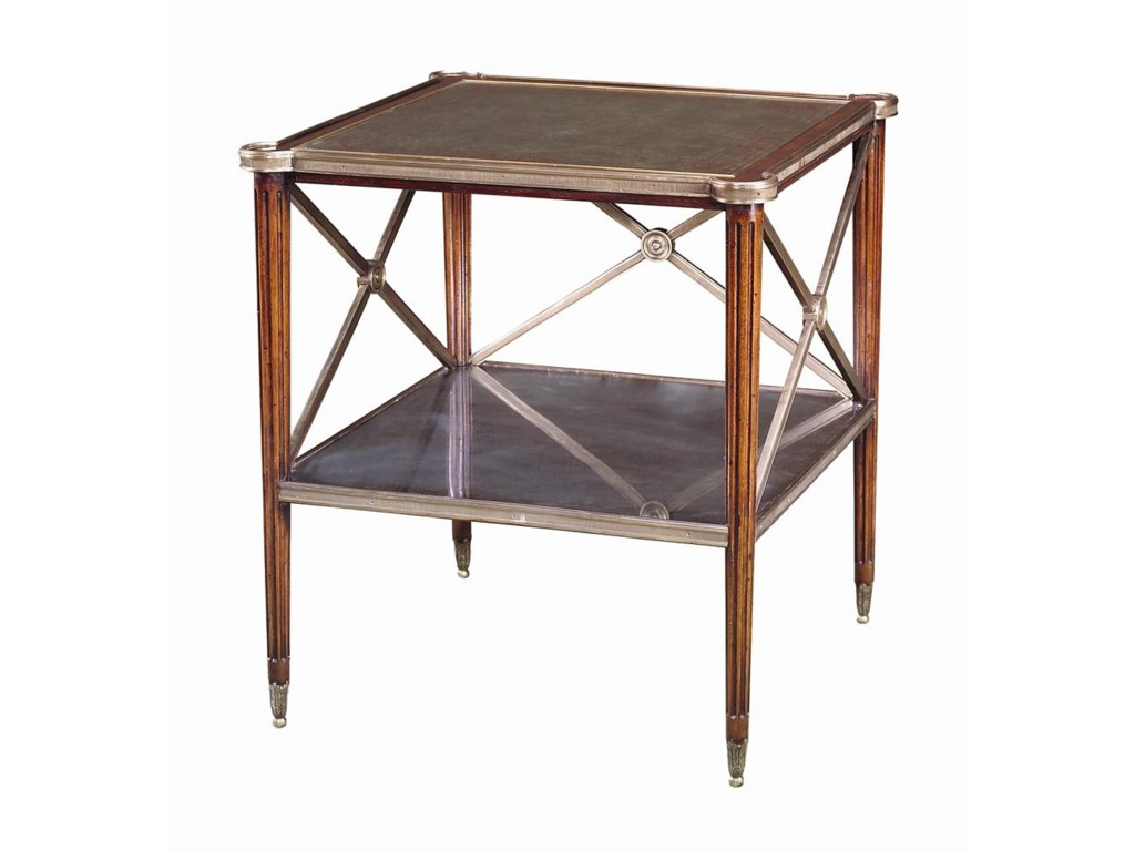 Theodore Alexander TablesSquare Paneled Side Table