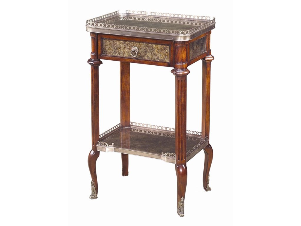 Theodore Alexander TablesTall Rectangular End Table