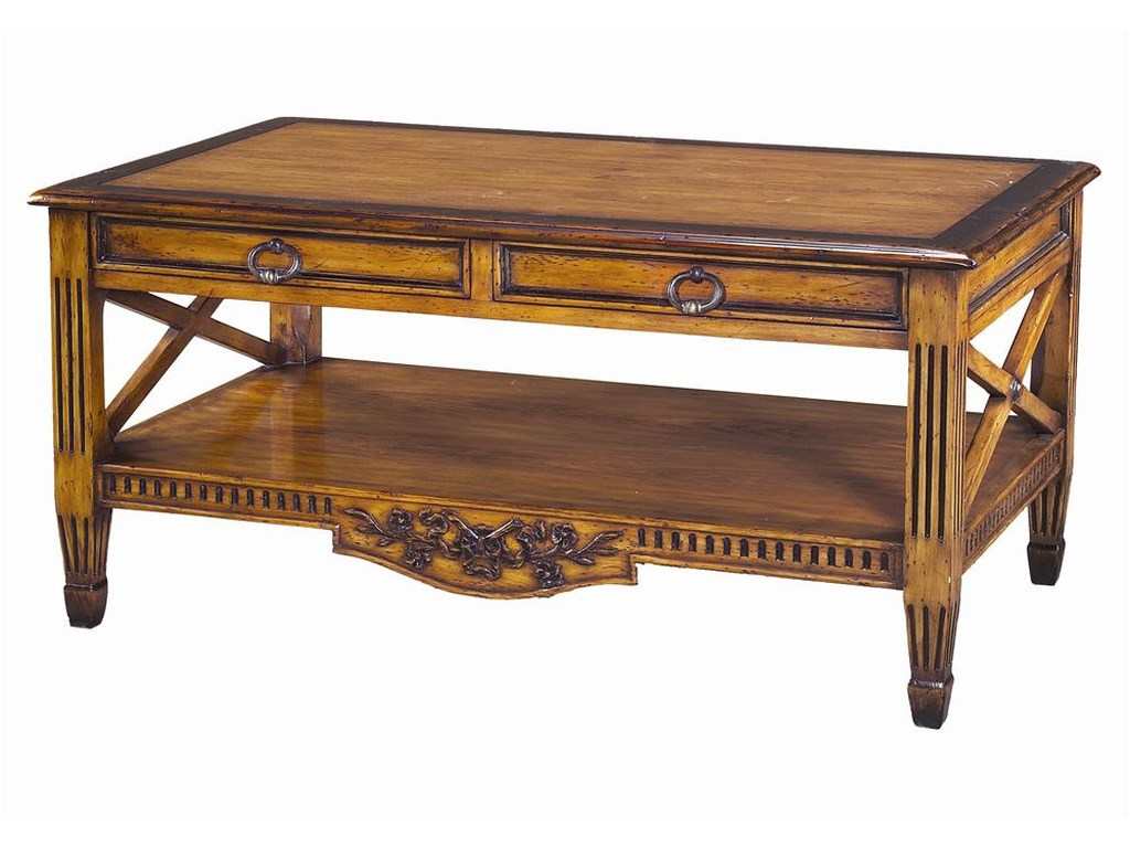 Theodore Alexander TablesFrench Provincial Cocktail Table