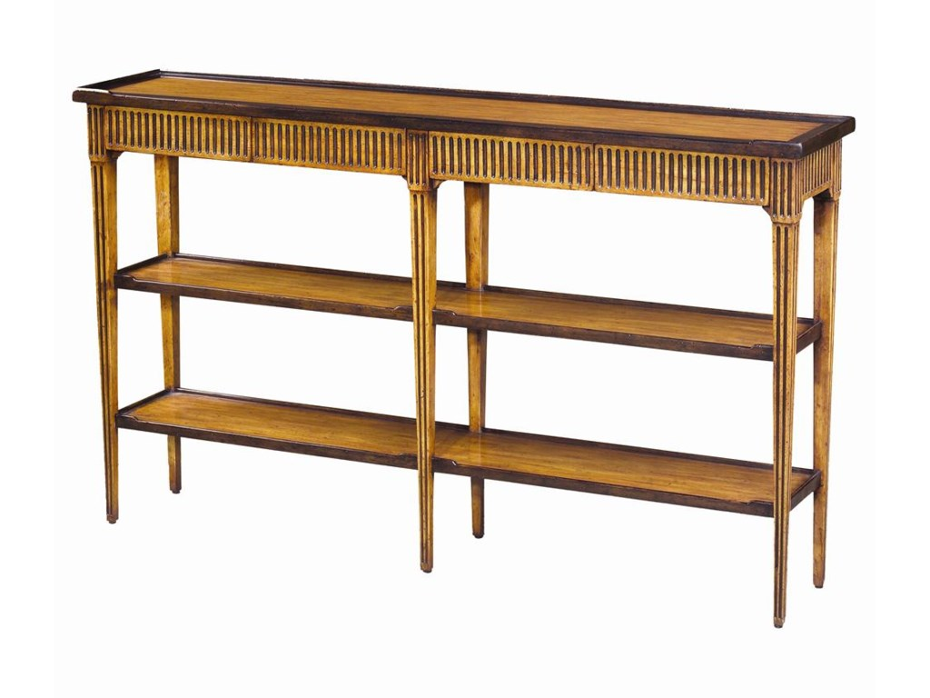 Theodore Alexander Tables3 Tier Sofa Table
