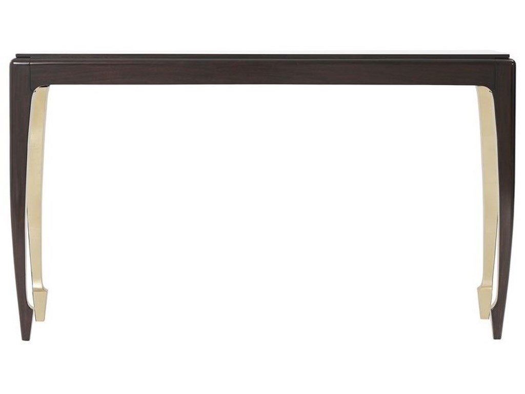 Theodore Alexander TablesGolden Curve Console Table