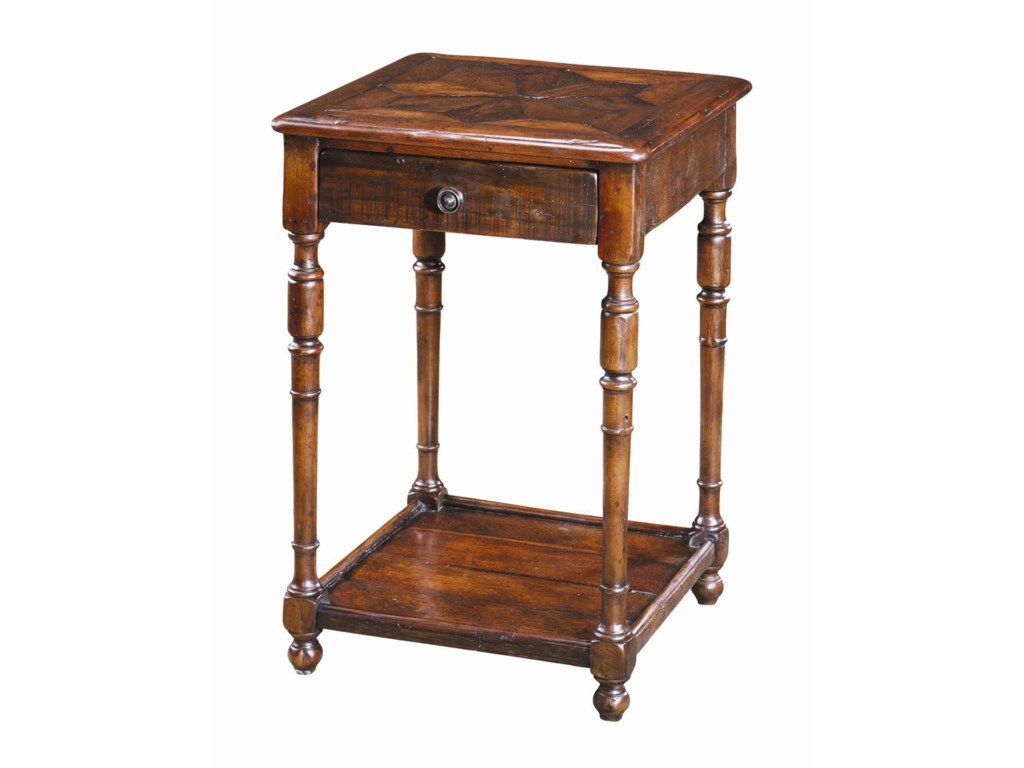 Theodore Alexander TablesAntique Wood End Table