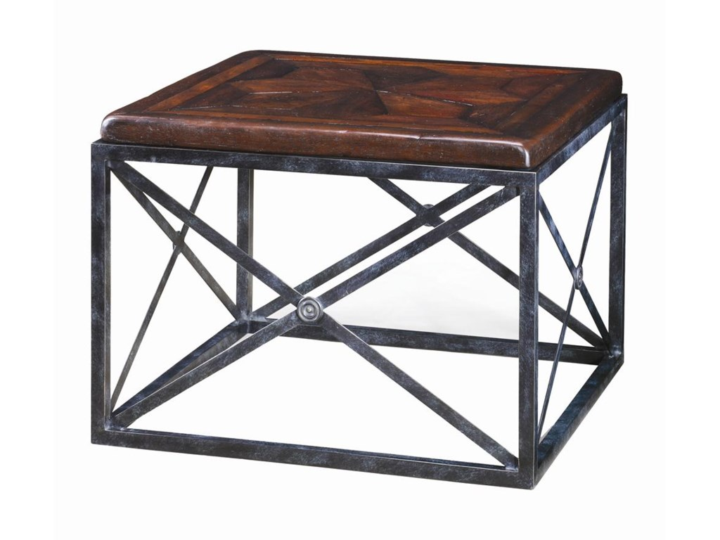 Theodore Alexander TablesBrass Campaign End Table