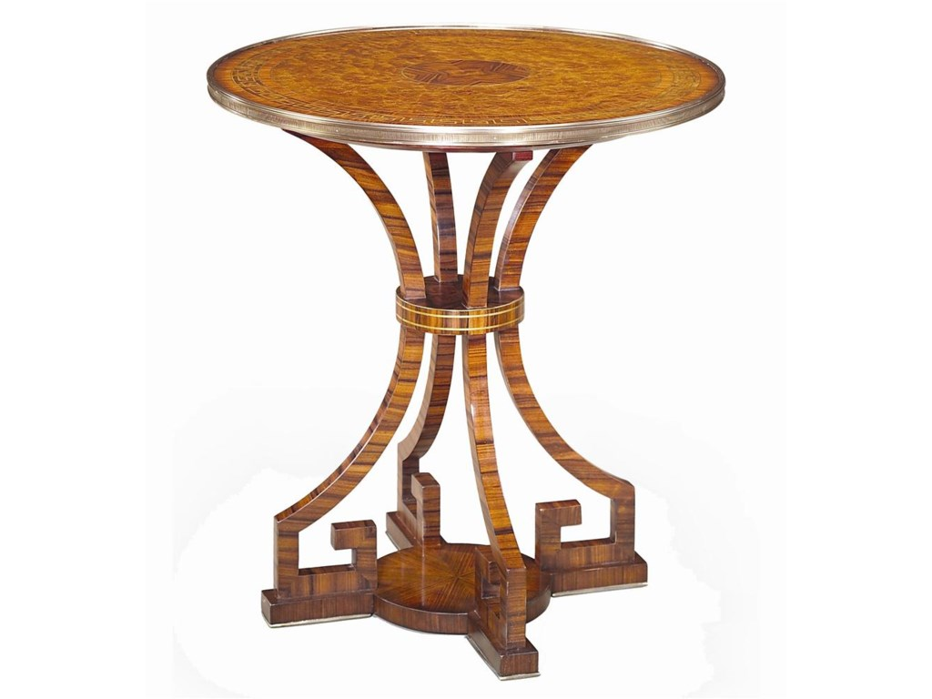 Theodore Alexander TablesRound Lamp End Table