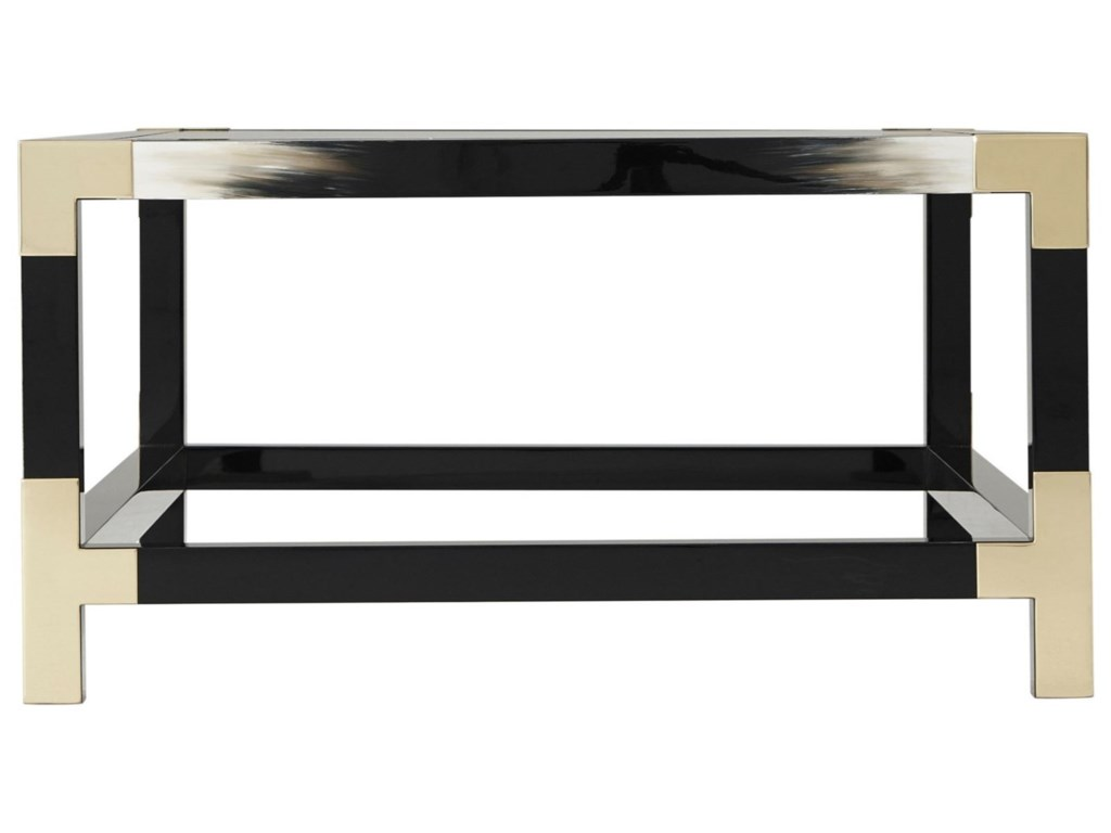 Theodore Alexander Vanucci EclecticsCutting Edge Cocktail Table
