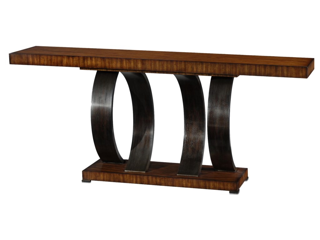 Theodore Alexander Vanucci EclecticsWalnut Console Table
