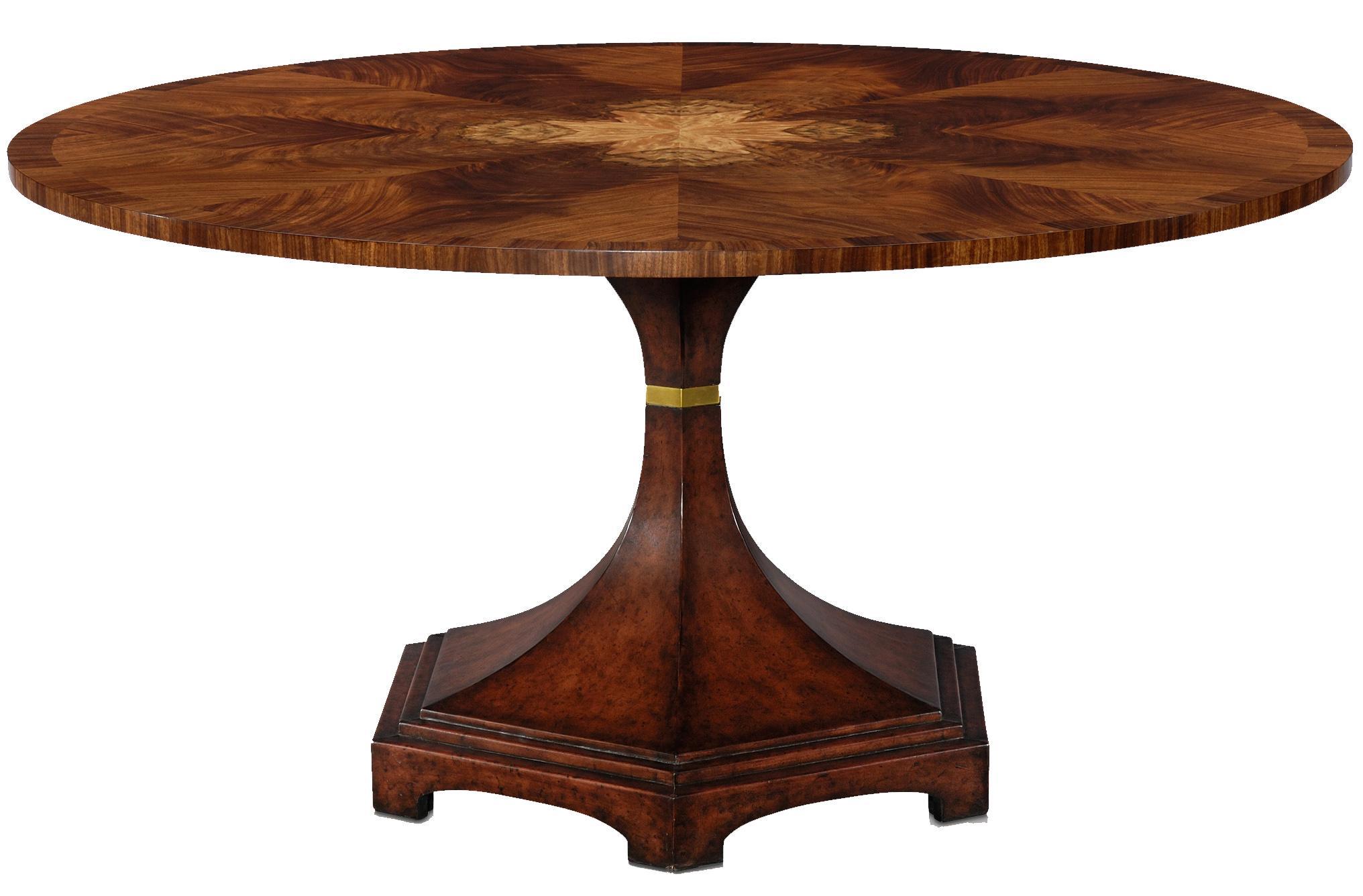 Flame Bubinga Centre Table