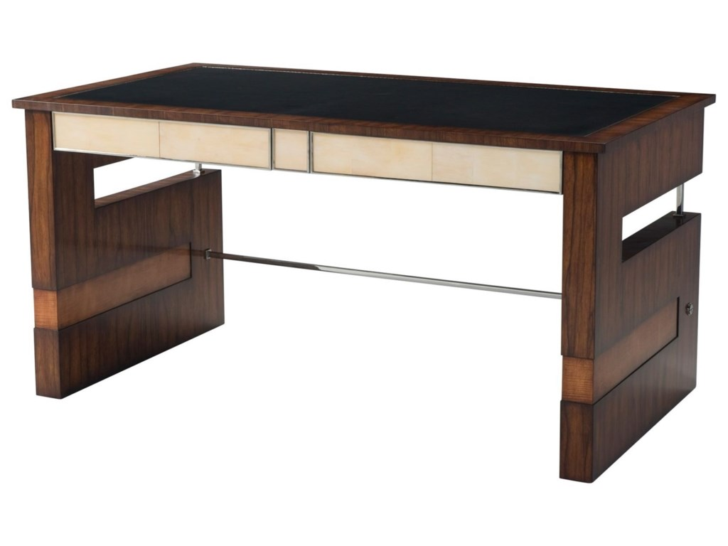 Theodore Alexander Vanucci EclecticsStriking Elements Writing Table
