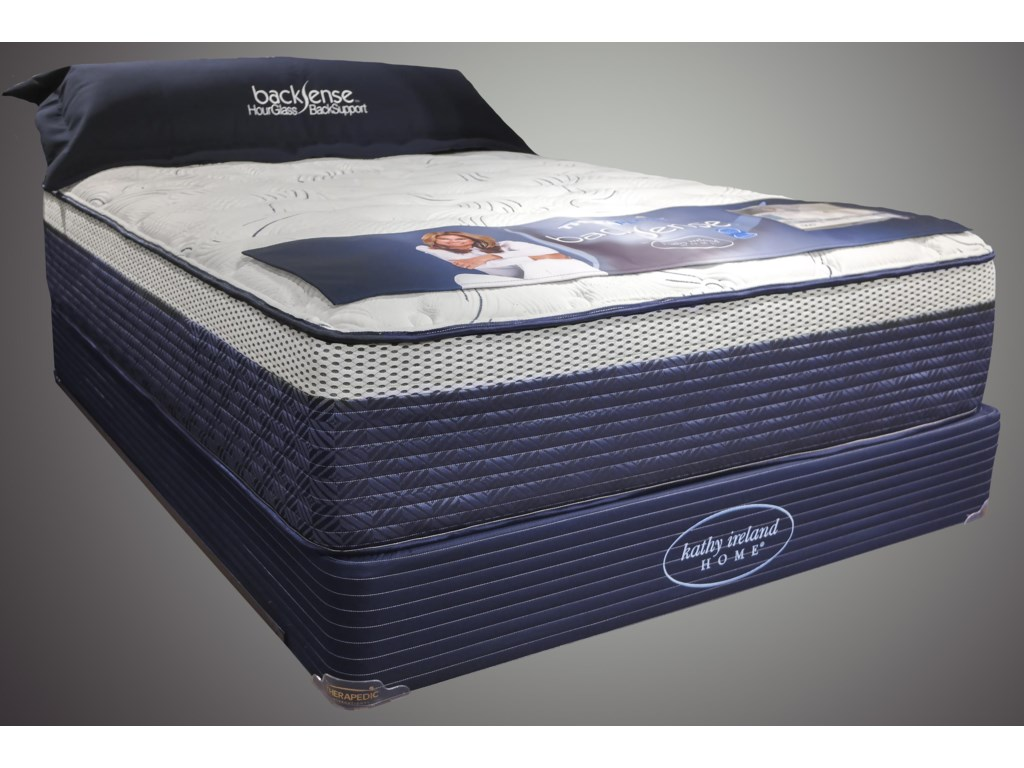 Therapedic Back Sense BrooklynQueen Plush Box Top Mattress Set