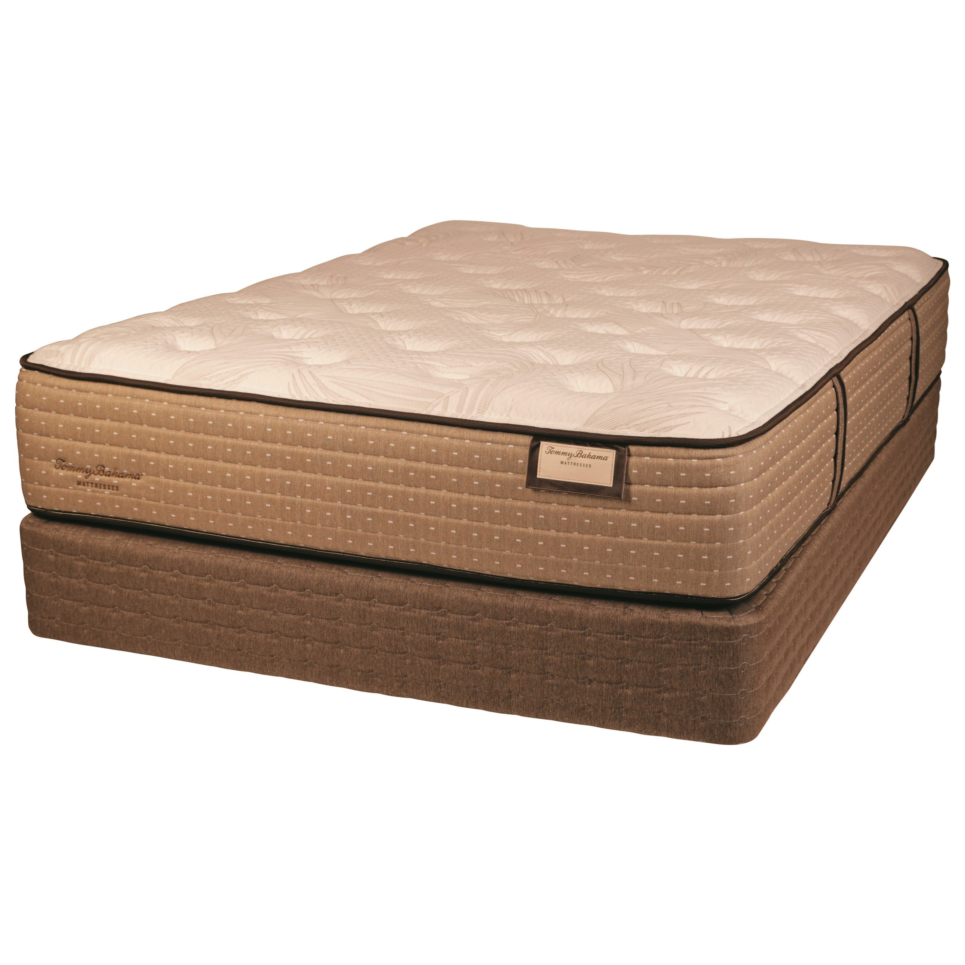 """Twin Extra Long Plush Luxry Mattress and 5"""" Low Profile Amish Hand Crafted Solid Wood Foundation"""