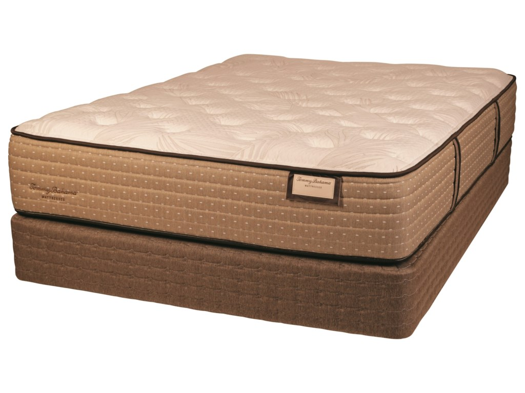 Tommy Bahama Mattress Tommy Bahama Shake The Sand PlushQueen Plush Luxry Low Profile Set