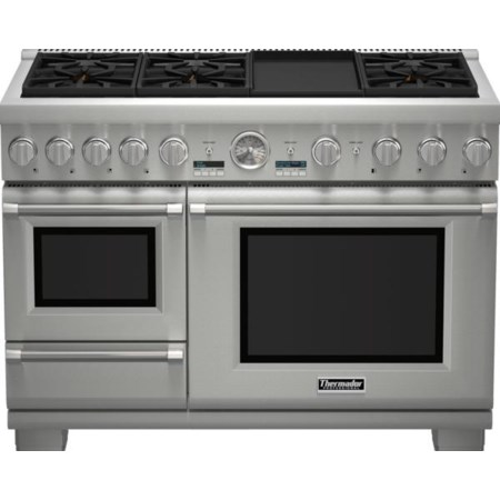 "48"" Pro Grand® Dual Fuel Steam Range"