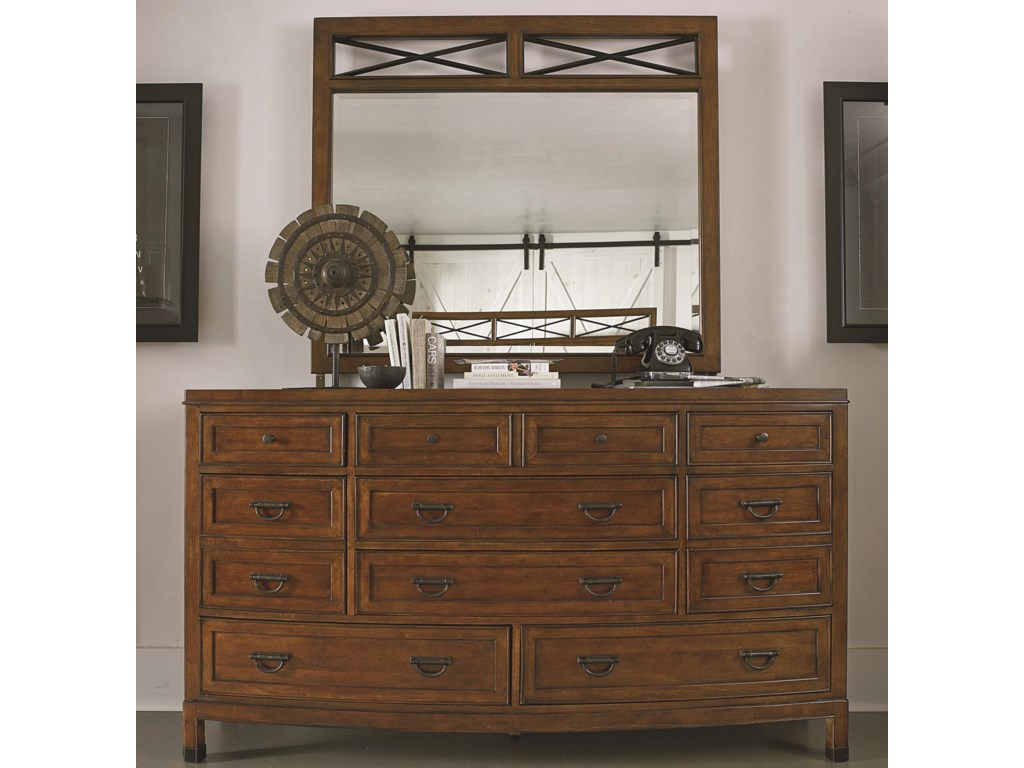 Thomasville® American AnthemDresser and Mirror