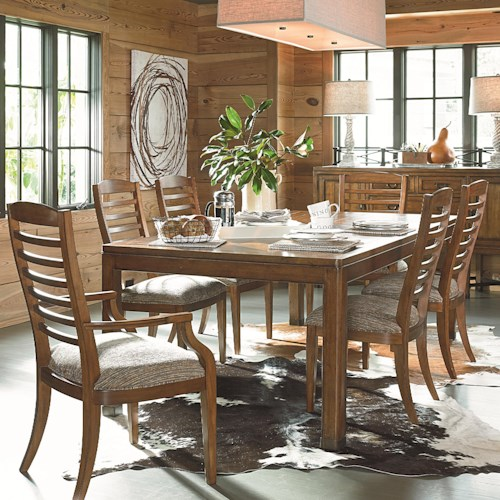 Thomasville® American Anthem 7 Piece Dining Table and Chair Set ...