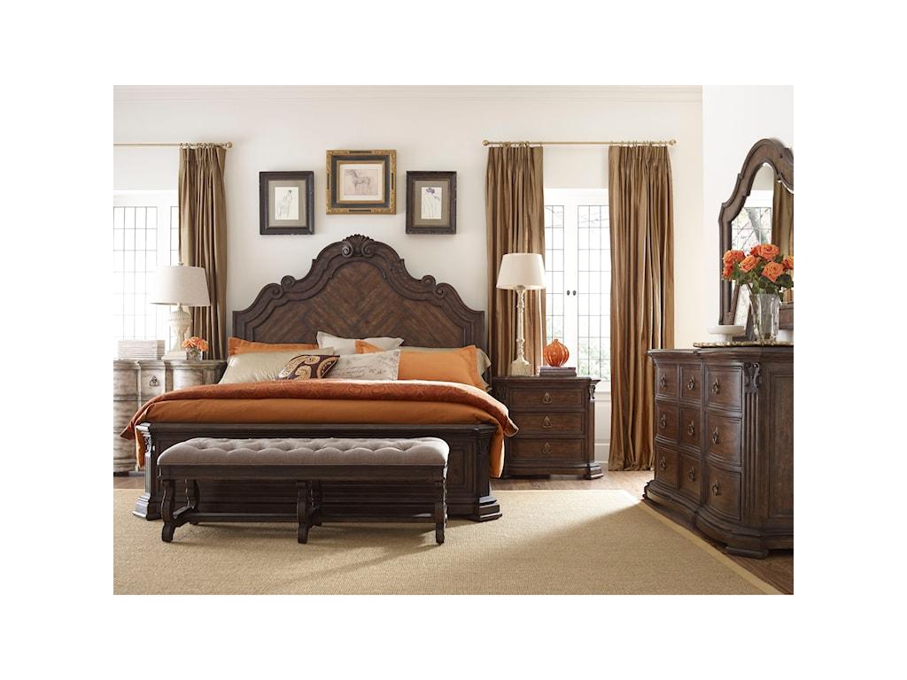 Thomasville® Casa VenetoKing Bedroom Group