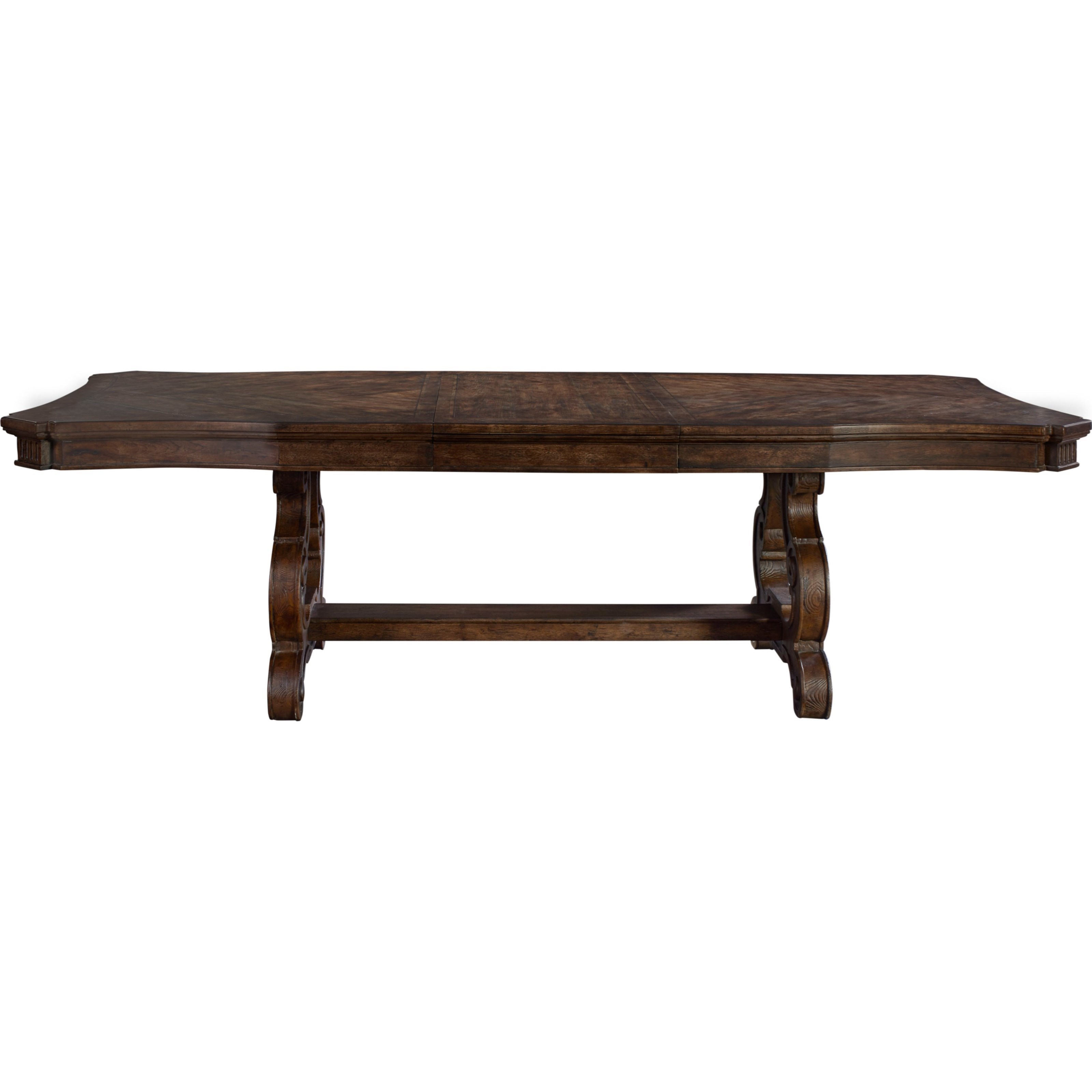 Thomasville® Casa Veneto Stella Trestle Dining Table With Table Extension  Leaves