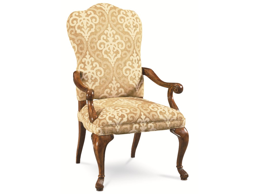Thomasville® Cassara 46921-882 Upholstered Dining Arm Chair w ...