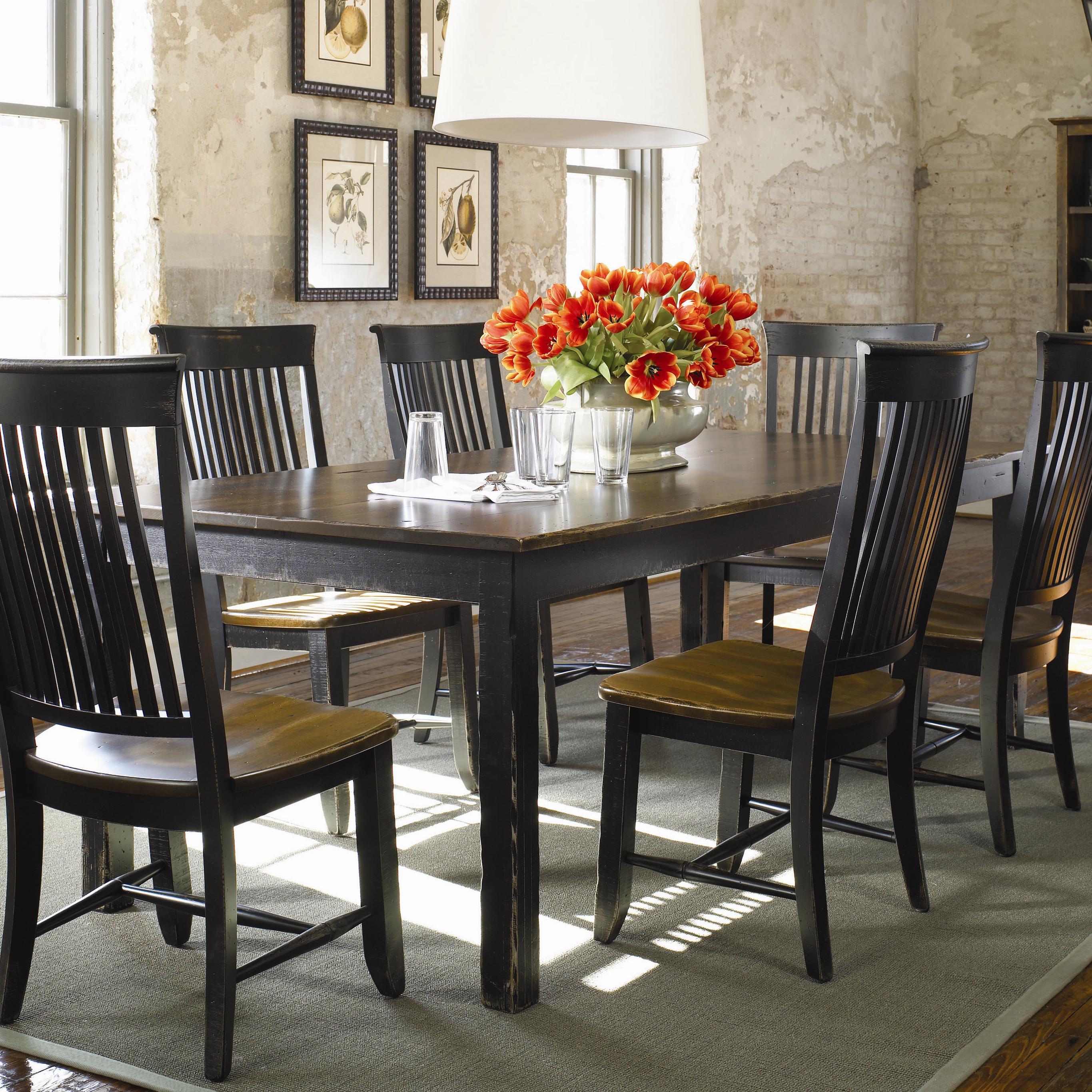 Thomasville® Color Café   Custom Dining Customizable Rectangular Table    Dunk U0026 Bright Furniture   Dining Room Table