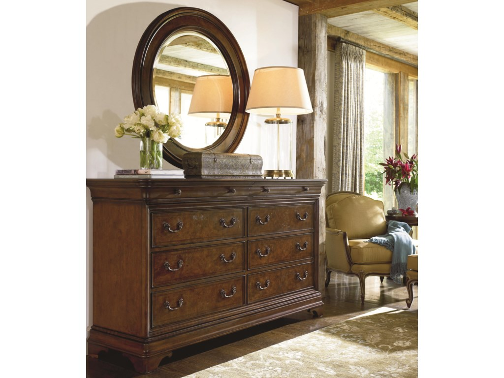 Thomasville® DeschanelDresser and Mirror