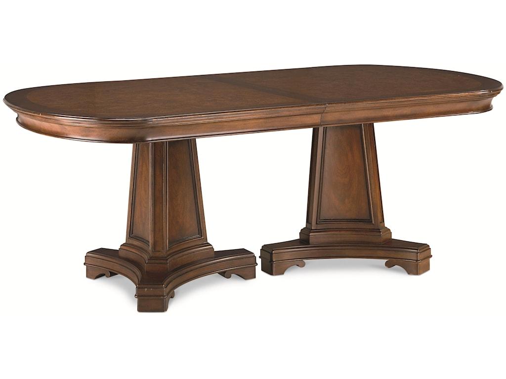 Thomasville® DeschanelDouble Pedestal Table