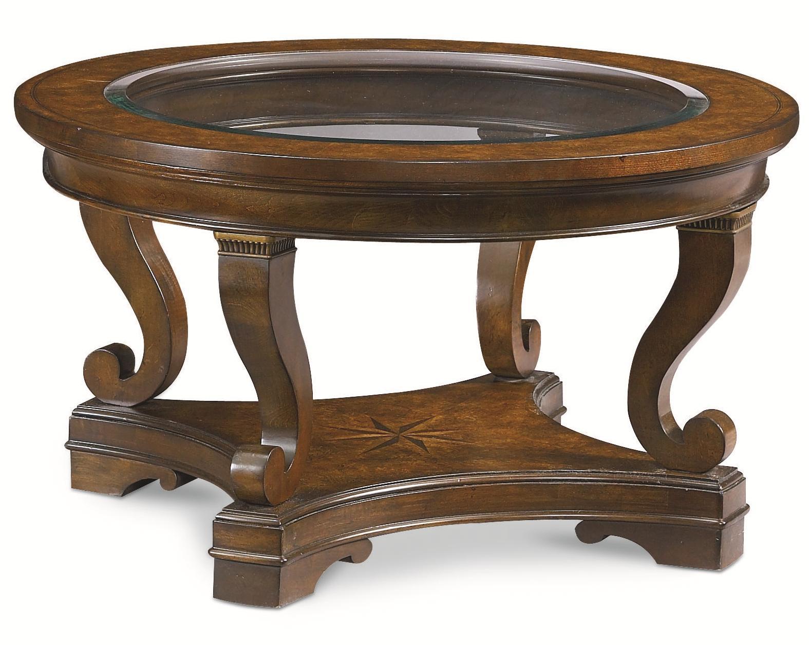 Thomasville® DeschanelRound Cocktail Table ...