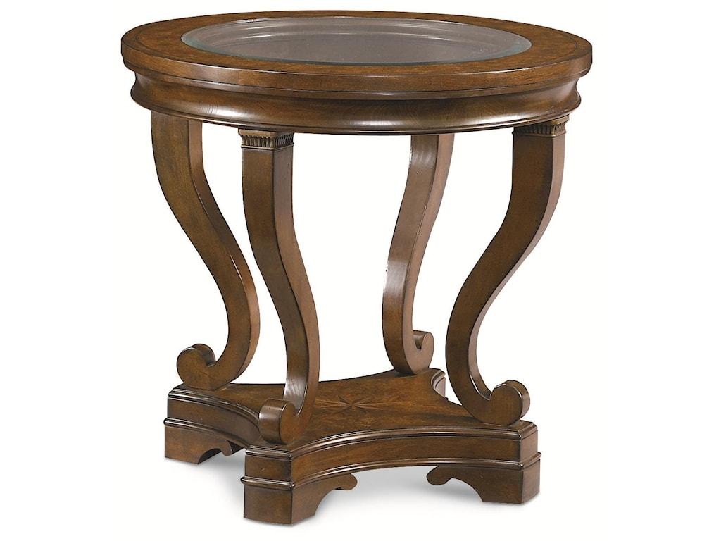 Thomasville® DeschanelRound Lamp Table