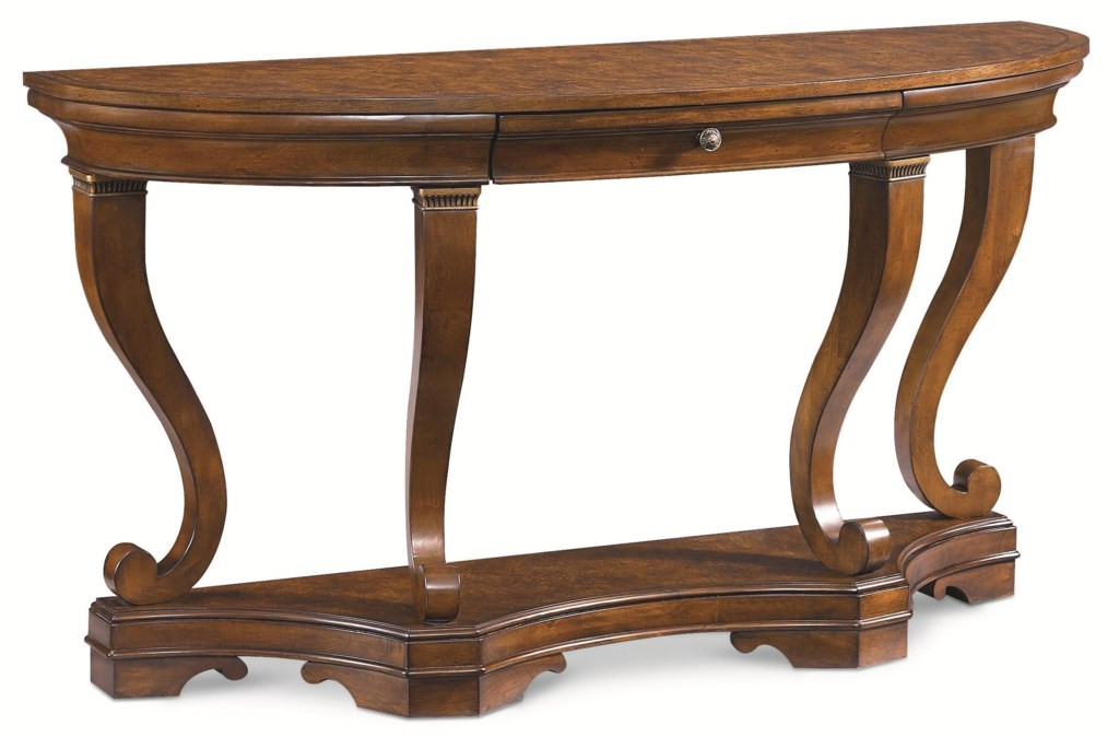 thomasville® deschanel console table w/ drawer - adcock furniture