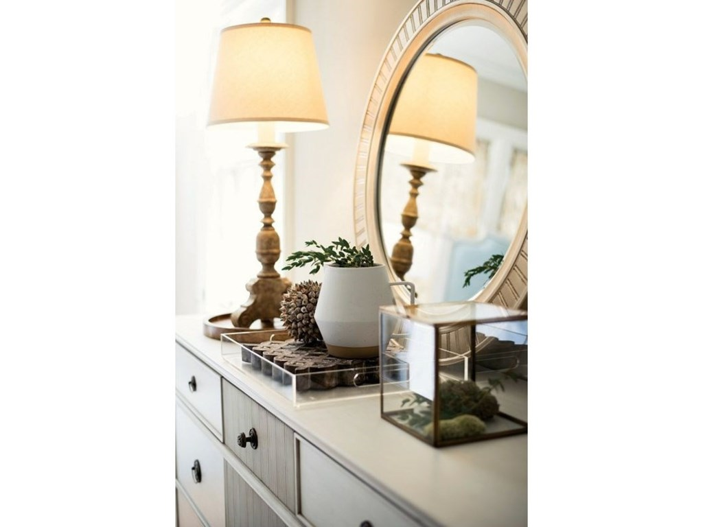 Thomasville® Elements and Origins ScandiaEvelyn's Round Mirror