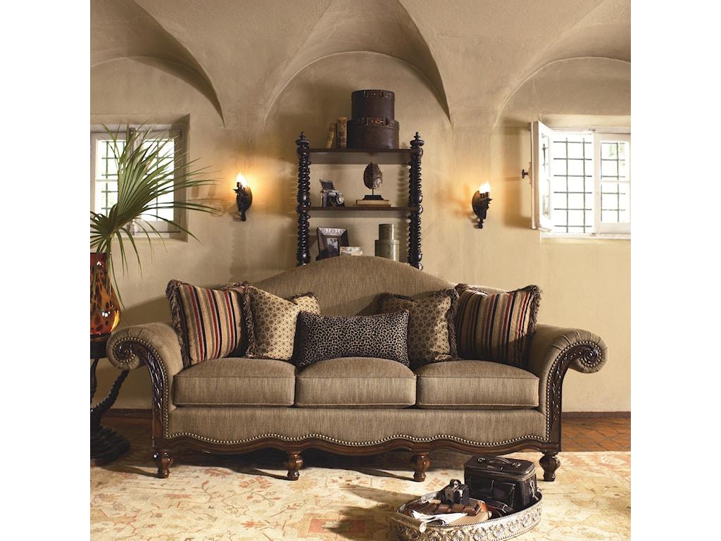 Thomasville® Ernest Hemingway 462Pauline Sofa