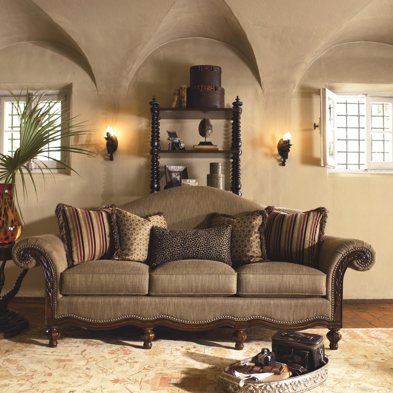 Thomasville Ernest Hemingway 462 30010 520 Pauline Camel Back Sofa