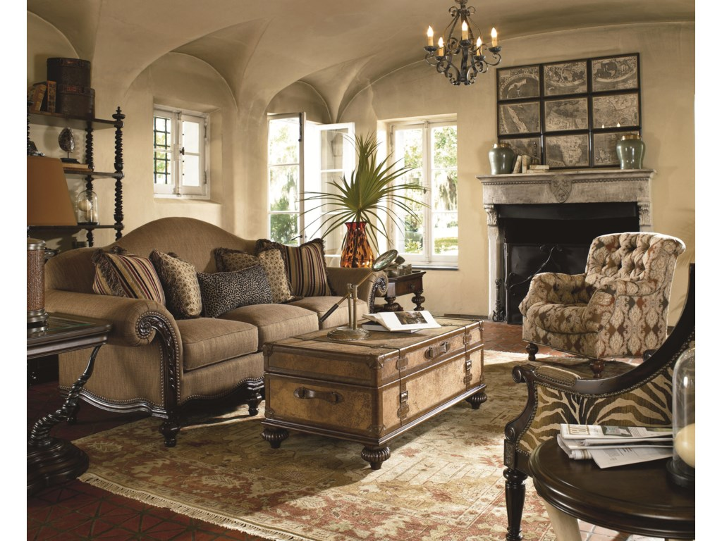 Shown with Coordinating Collection Items in Eclectic Arrangement