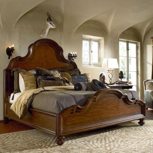 Barkley Panel Bed Shown in Room Setting