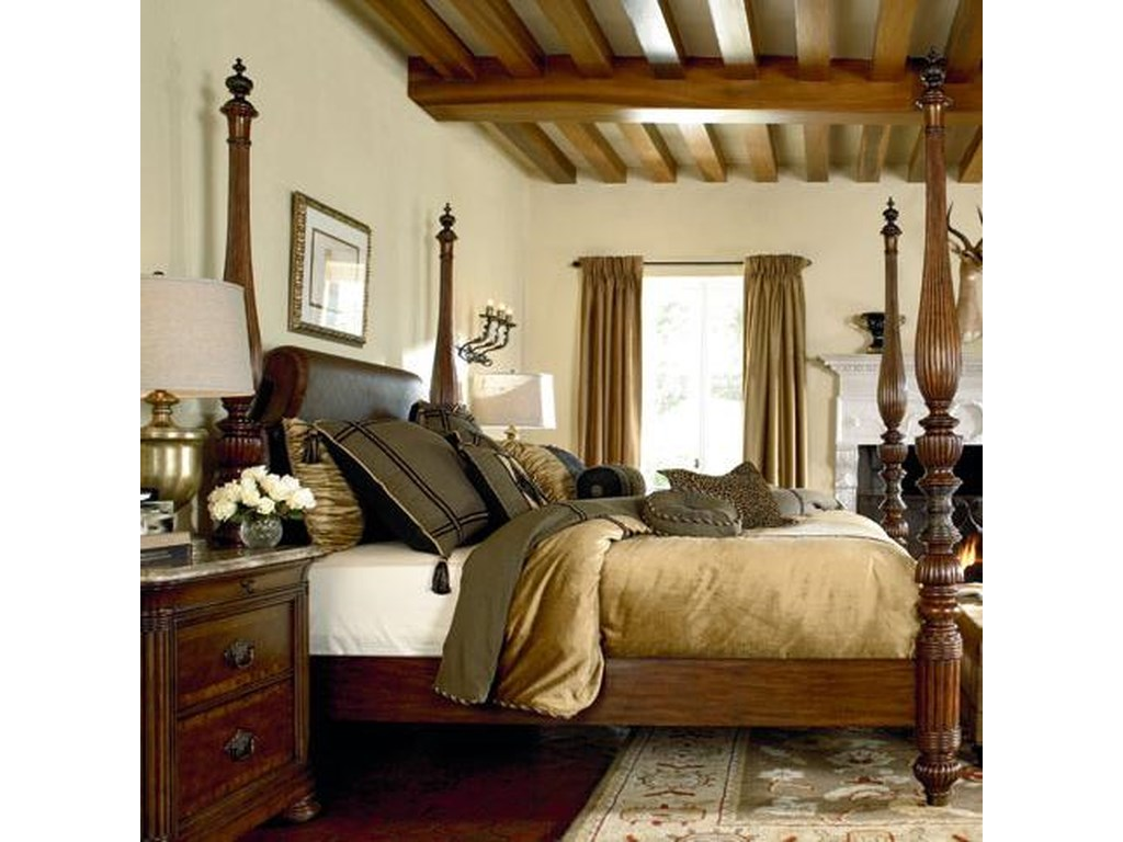 Thomasville® Ernest Hemingway California King Thompson Falls Poster Bed