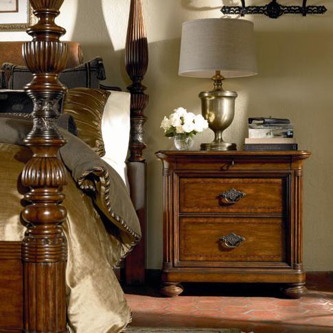 Thomasville® Ernest Hemingway Nairobi Night Stand W/ 3 Drawers | Stuckey  Furniture | Night Stand