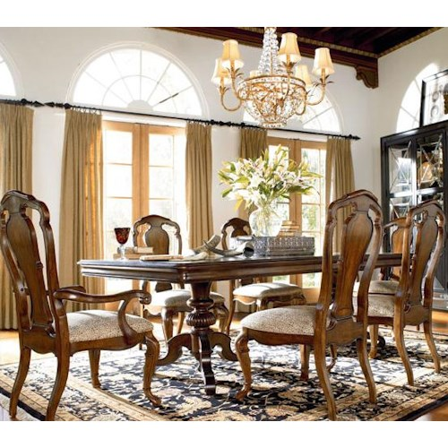 Thomasville Dining Room Furniture: Thomasville® Ernest Hemingway 7 Piece Table And Side Chair