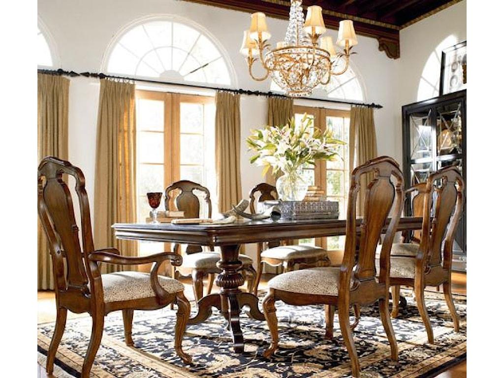 Thomasville ernest hemingway 7 piece dining set