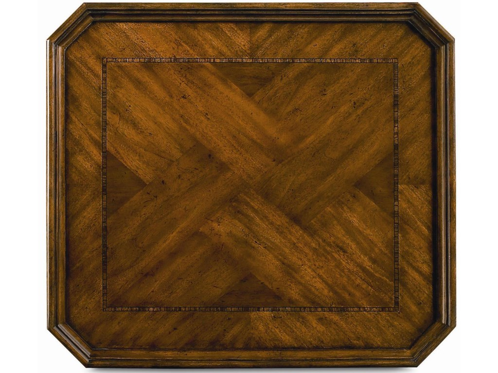 Square Table Top with Veneer Banding
